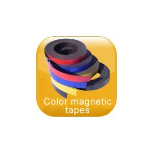 Color magnetic tapes