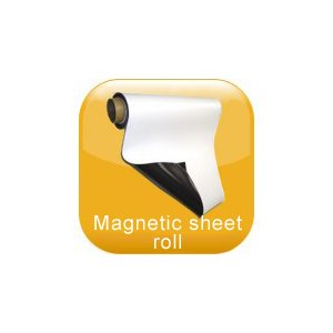 Magnetic sheet roll