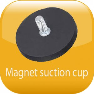 Magnet suction cup
